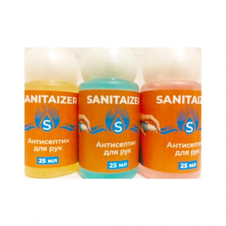Антисептик Sanitaizer Spray без распылителя, 25 мл